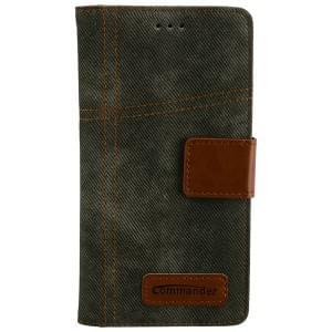 COMMANDER Jeans Tasche Used-Jeans-Design für Huawei P9 Lite