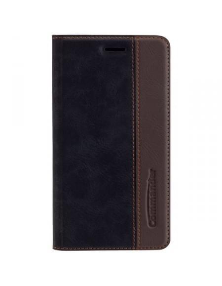COMMANDER Premium BiColor Tasche für Wiko Lenny 3 - Gentle Black