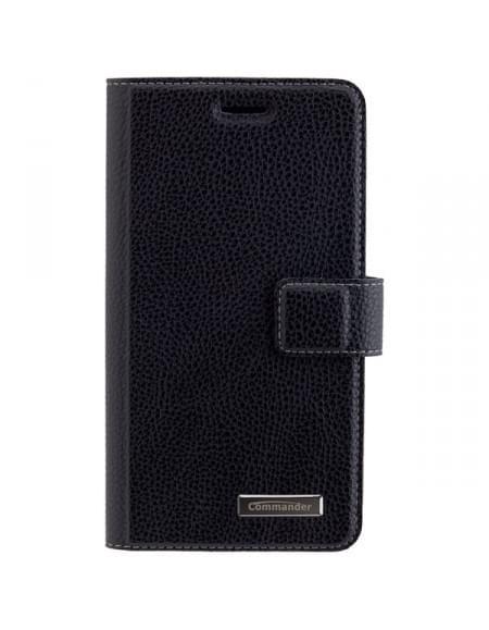 COMMANDER Premium Tasche ELITE für Wiko Lenny 3 - Black