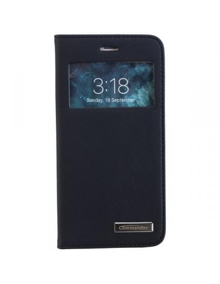 COMMANDER WINDOW funktionelle Tasche für Apple iPhone 7 - Cross Black