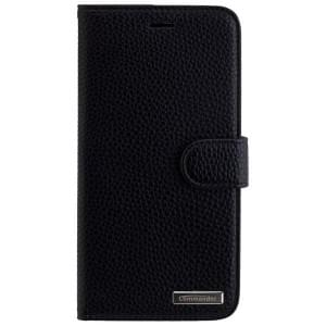 COMMANDER Premium Handytasche ELITE für Apple iPhone 8 Plus / 7 Plus - Black