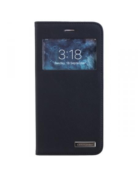 COMMANDER WINDOW funktionelle Tasche für Apple iPhone 7 Plus - Cross Black