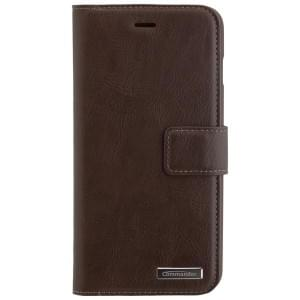 COMMANDER Premium Handytasche BOOK CASE Vintage Brown 2in1 mit Back Cover für Apple iPhone 8 Plus / 7 Plus