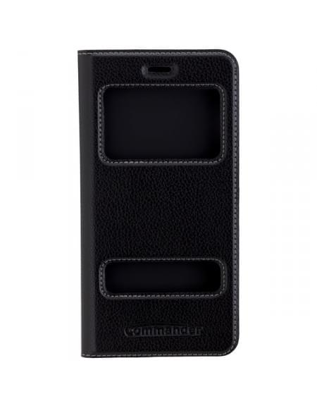COMMANDER Tasche DOUBLE WINDOW für Apple iPhone 7 Plus - Black