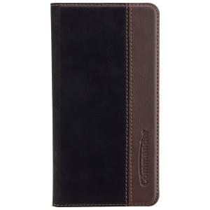 COMMANDER Tasche BOOK CASE für Wiko U Feel - Gentle Black
