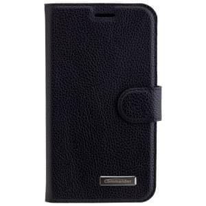 COMMANDER Premium Handytasche ELITE für Samsung Galaxy J5 (2016) - Black