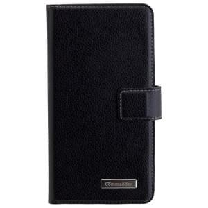 COMMANDER Premium Handytasche BOOK CASE ELITE Black für Huawei GT3