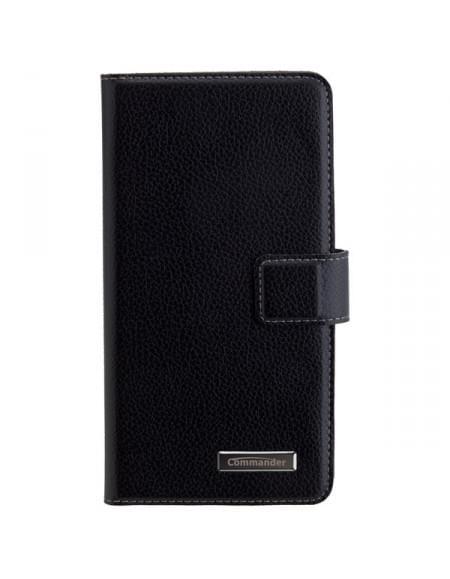 COMMANDER Tasche BOOK CASE ELITE Black für Huawei GT3