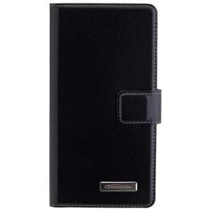 COMMANDER BOOK CASE ELITE Handytasche für Sony Xperia E5 - Black