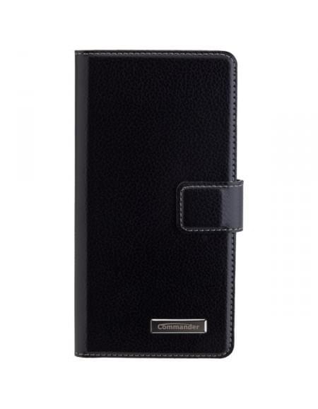 COMMANDER BOOK CASE ELITE für Sony Xperia E5 - Black
