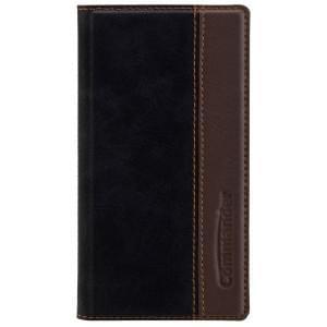 COMMANDER Handytasche BOOK CASE für Sony Xperia X Compact - Gentle Black