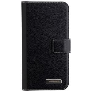 COMMANDER Tasche BOOK CASE ELITE für HTC 10 - Black