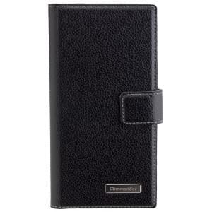 COMMANDER Premium Handytasche BOOK CASE ELITE für Sony Xperia XZ - Black