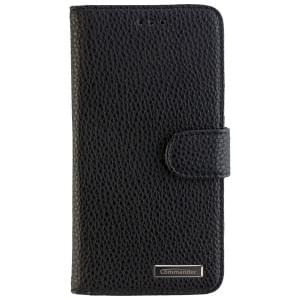 COMMANDER Premium Handytasche BOOK CASE ELITE für Acer Liquid Z6 - Black