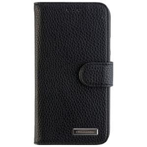 COMMANDER Handytasche BOOK CASE ELITE für Lenovo Moto E3 / Motorola Moto E (3rd Grn) - Black