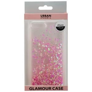 URBAN IPHORIA Back Cover GLAMOUR für Apple iPhone 8 Plus / 7 Plus - Pink