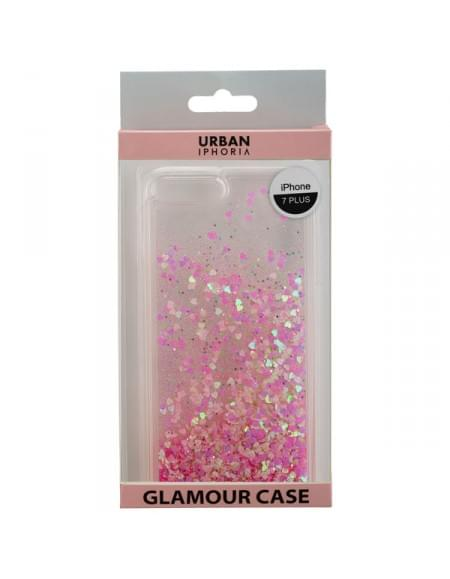 URBAN IPHORIA Back Cover GLAMOUR für Apple iPhone 7 Plus - Pink
