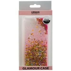 URBAN IPHORIA Back Cover GLAMOUR für Apple iPhone 8 Plus / 7 Plus - Gold