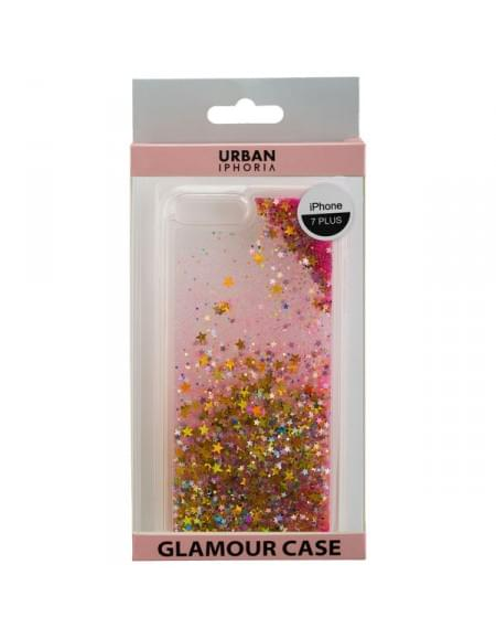 URBAN IPHORIA Back Cover GLAMOUR für Apple iPhone 7 Plus - Gold