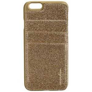 CARPE DIEM Back Cover Case / Schutzhülle BLING POCKET für Apple iPhone 6 / 6S - Gold