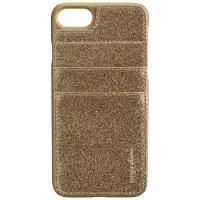 CARPE DIEM Back Cover Case / Schutzhülle BLING POCKET für Apple iPhone 7 - Gold