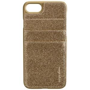 CARPE DIEM Back Cover Case / Schutzhülle BLING POCKET für Apple iPhone 7 / 8 - Gold