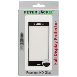 PETER JÄCKEL FULL DISPLAY HD Glass SUPERB PLUS für Sony Xperia X Compact - Black