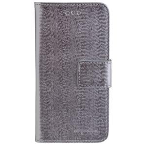 CARPE DIEM Book Case Handytasche PARIS für Apple iPhone 7 / 8 - Silver