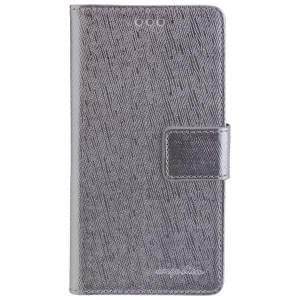 CARPE DIEM Book Case Handytasche PARIS für Huawei P9 Lite - Silver