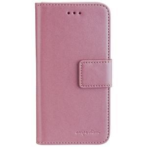 CARPE DIEM Book Case Handytasche PARIS für Apple iPhone 6 / 6S - Rose Gold