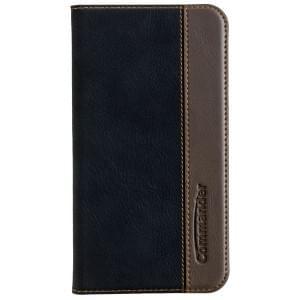 COMMANDER Handytasche BOOK CASE für LG K10 - Gentle Black
