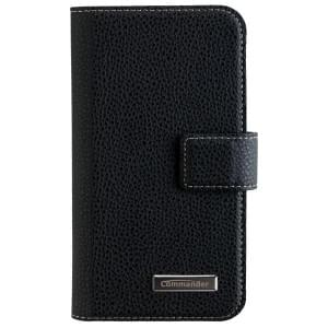 COMMANDER Handytasche BOOK CASE ELITE für LG K4 - Black