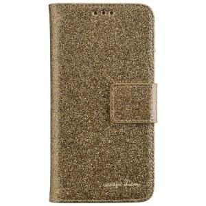 CARPE DIEM Handytasche Book Case BLING für Samsung Galaxy A3 (2017) - Gold Glamour