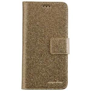 CARPE DIEM Handytasche Book Case BLING für Samsung Galaxy A5 (2017) - Gold Glamour