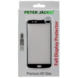 PETER JÄCKEL FULL DISPLAY HD Glass SUPERB PLUS für LG K10 - Black