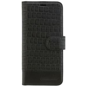 COMMANDER Handytasche BOOK CASE ELITE für Samsung Galaxy S8 - Cobra Black