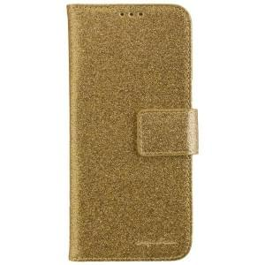 CARPE DIEM Handytasche Book Case BLING für Samsung Galaxy S8 - Gold