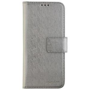 CARPE DIEM Handytasche Book Case PARIS für Samsung Galaxy S8 - Silver