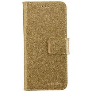 CARPE DIEM Handytasche Book Case BLING für Huawei P10 - Gold