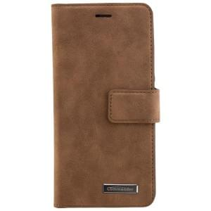 COMMANDER Handytasche BOOK CASE für Huawei P10 - Gentle Brown