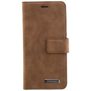 COMMANDER Handytasche BOOK CASE für Huawei P10 - Gentle Brown