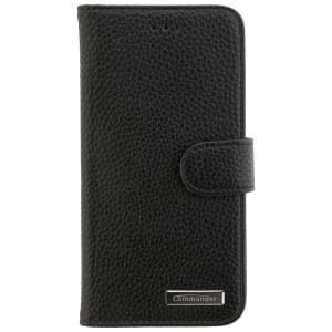 COMMANDER Handytasche BOOK CASE ELITE für Huawei P10 Lite - Black