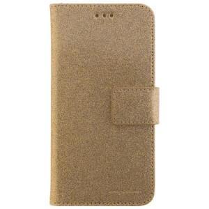 CARPE DIEM Handytasche Book Case BLING für Huawei P10 Lite - Gold