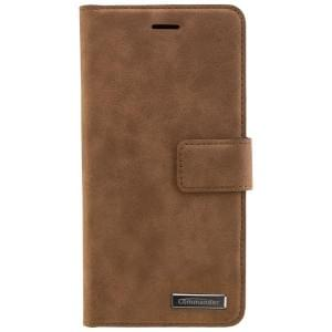 COMMANDER Handytasche BOOK CASE für Huawei P10 Lite - Gentle Brown