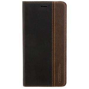 COMMANDER Handytasche BOOK CASE für Huawei P10 Plus - Gentle Black