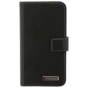 COMMANDER Handytasche BOOK CASE ELITE für Samsung Galaxy XCover 4 - Black