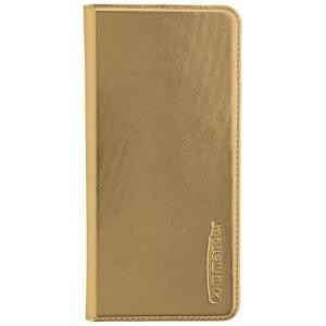 COMMANDER Handytasche BOOK CASE für Huawei P10 Plus - Metallic Gold