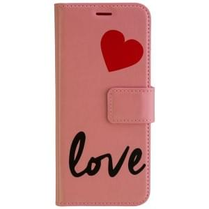 URBAN IPHORIA Book & Cover Handytasche 2in1 LOVE für Samsung Galaxy S8 - Pink