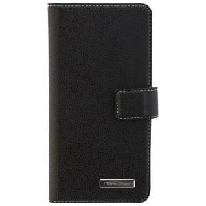 COMMANDER Handytasche BOOK CASE ELITE für Nokia 5 - Black