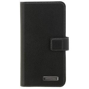 COMMANDER Handytasche BOOK CASE ELITE für Nokia 6 - Black